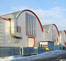 Установка дверей в офисных помещениях завода Лиссант, г. Санкт-Петербург