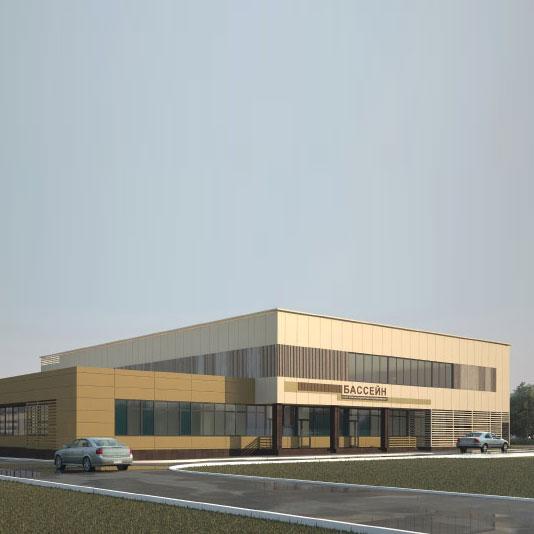 Закончен монтаж дверных блоков крытого спортивного комплекса без трибун на Петергофском шоссе